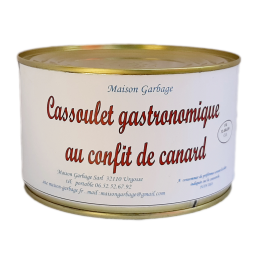 Cassoulet gastronomique 3 parts 1500 g