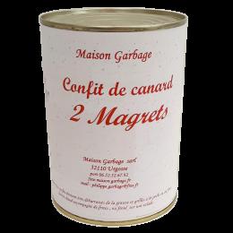2 Magrets de canard confits