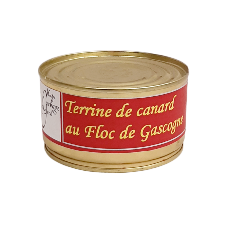 Terrine de canard au floc de Gascogne 190g