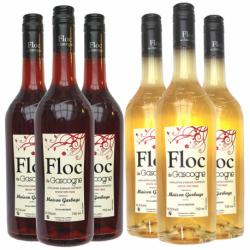 Les 6 bouteilles de Floc panachées 16% du vol