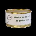 Terrine de canard au poivre vert 190g